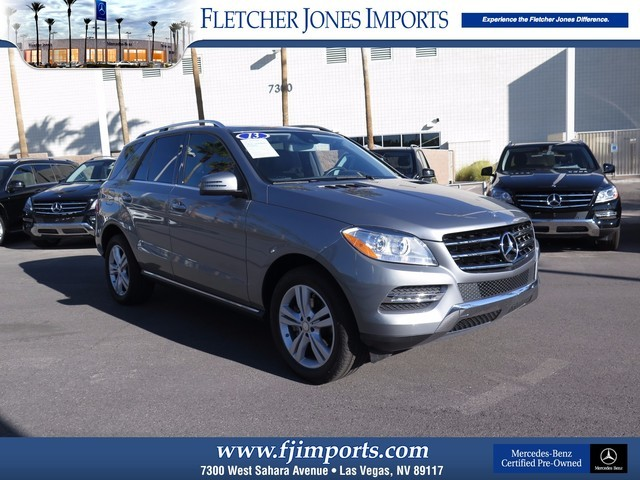 Pre-Owned 2013 Mercedes-Benz M-Class ML350 Rear Wheel Drive SUV