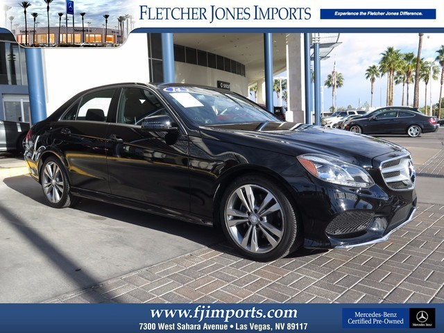 Certified Pre-Owned 2014 Mercedes-Benz E-Class E350 Sport Rear Wheel Drive Sedan